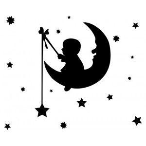 Kleine man op de maan
