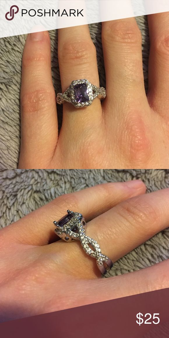 February Birthstone ring! Purple ring, February birthstone color! Jewelry Rings