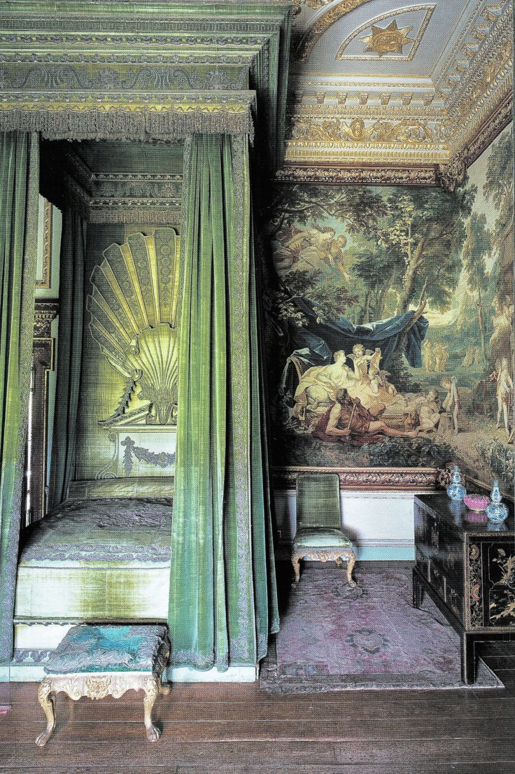 English Country Manor Bedrooms: 157 Best Images About 18th Century Interiors On Pinterest