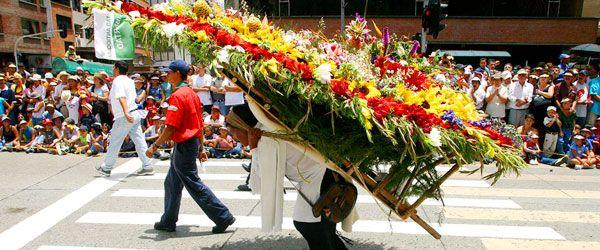 Desfile de silleteros Medellin