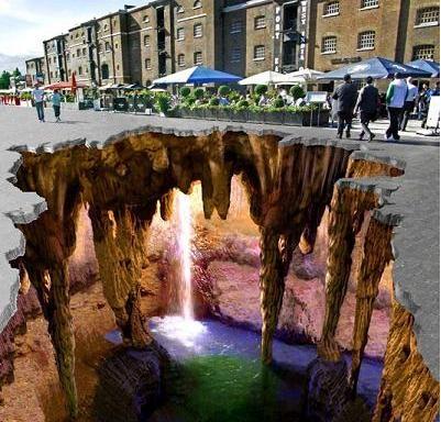 Edgar mueller: mindblowing 3d street art: Amazing, Chalkart, 3D Chalk, Sidewalk Art, Street Art, 3D Art, 3D Street, Streetart, Chalk Art