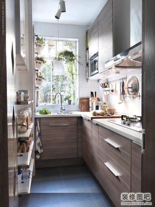 small apartment kitchen  Home Sweet Home  Pinterest
