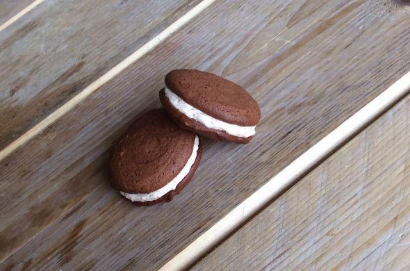 gezonde macarons recept, hazelnoot chocolade