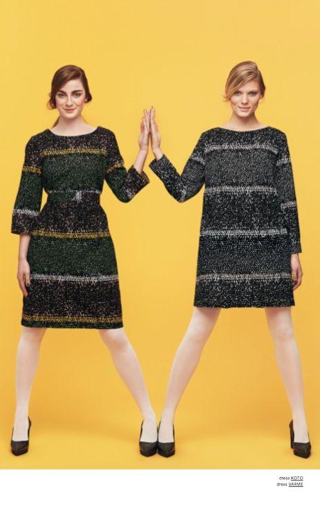 Marimekko Winter 2013: Parvo dress