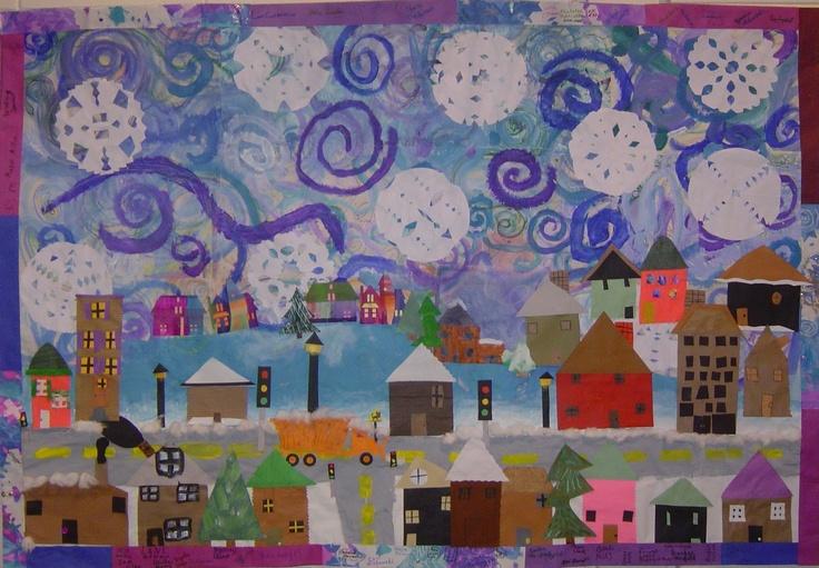 Gallery2404: winter collaborative collage