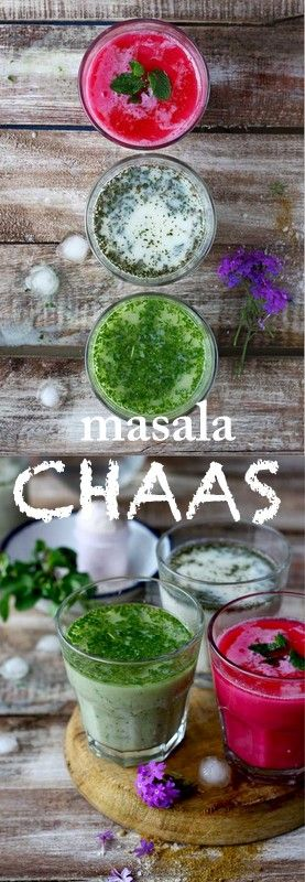 Masala Chaas aka flavored buttermilk is one of the most popular Indian summer drink. All you need are 4 ingredients (yogurt, water, salt, cumin powder) and 15 minutes to make this delicious masala chaas. funfoodfrolic.com