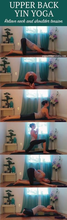 Who here doesn't suffer from upper body aches, pains and knots? These six poses will help you tackle whatever ails you in the neck, shoulders and upper back!