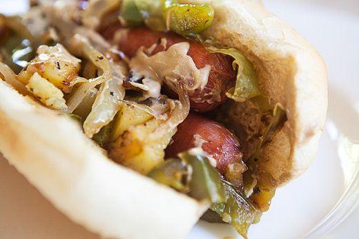 New Jersey Italian Hot Dog Recipe
