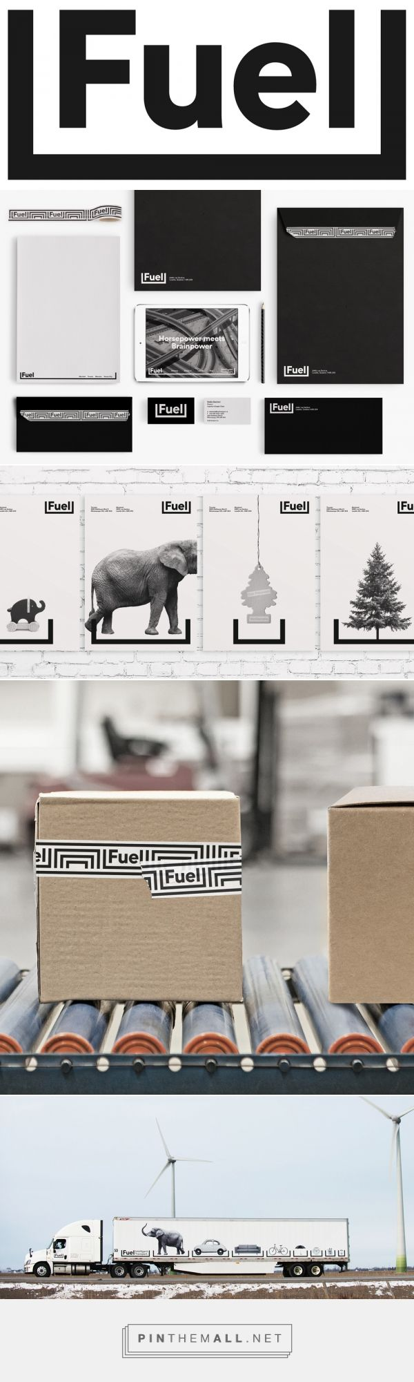 Brand New: New Logo and Identity for Fuel Transport by Sid Lee... - a grouped images picture - Pin Them All