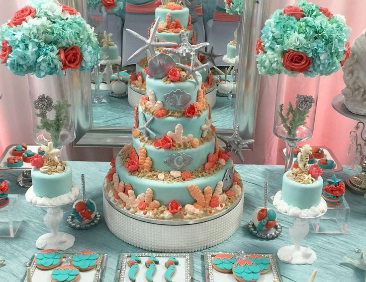 Coral Ocean Sweet Fifteen & Sixteen - Under the Sea