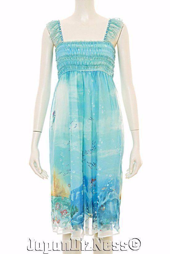 New Secret Honey Disney LE Ariel Sea Green Under The Sea Little Mermaid Dress #SecretHoney