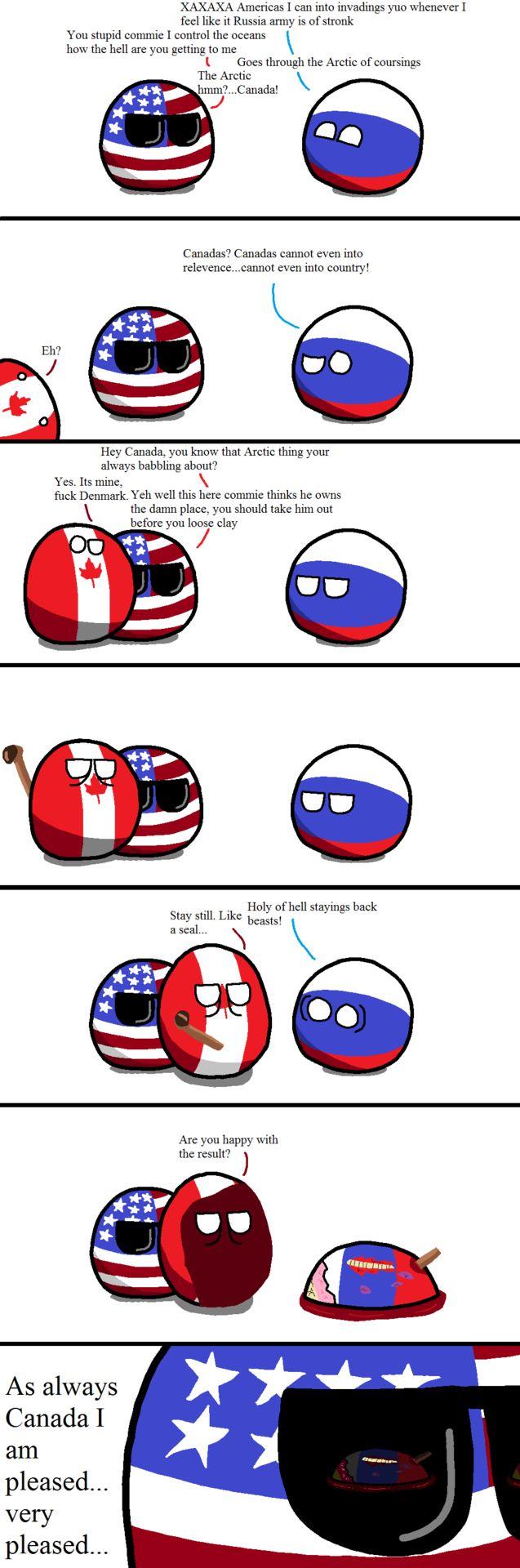 Canada is secretly psychotic