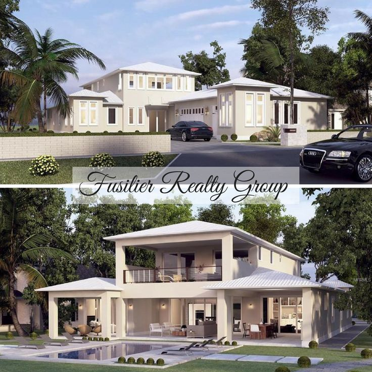 *Currently Under Construction* 4 Bedroom, 4.5 Bathroom, 3 Car Garage, Private Pool, Lakefront - Belle Isle, FL - Home for Sale