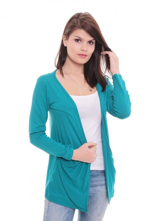 Кардиган А5778 Размеры: 44-54 Цвет: лазурный Цена: 300 руб.  http://optom24.ru/kardigan-a5778/  #одежда #женщинам #кардиганы #оптом24
