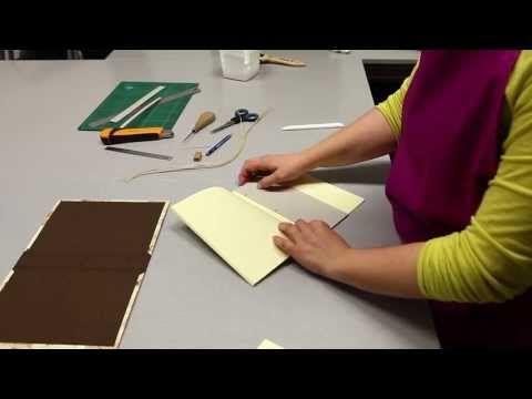 Tutorial - Cuaderno Bradel by Cartoné - YouTube