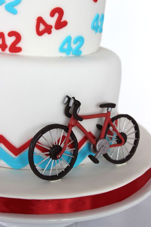 Bicycle tutorial from Sweet Dreams Cake