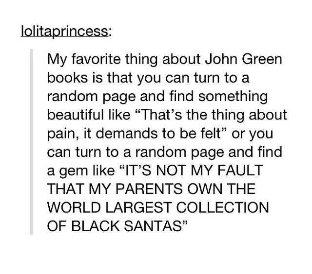That's tfios and Paper Towns, both good.