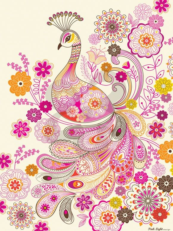 Plumes and Blooms - Birds Canvas Wall Art   Oopsy daisy 18x24