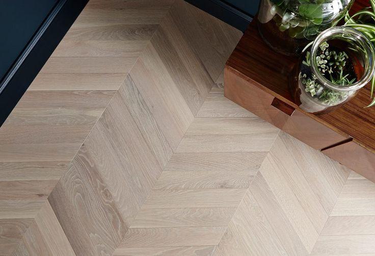 cashmere chevron, create collection, white wood flooring