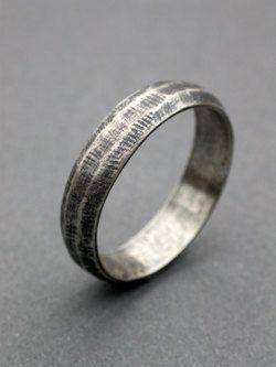 mens wedding band simple modern eclectic wedding band engagement ring modern unisex masculine wedding man ring