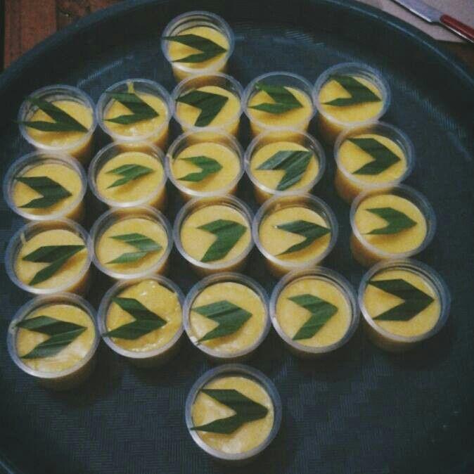 Corn Pudding - Indonesian Food