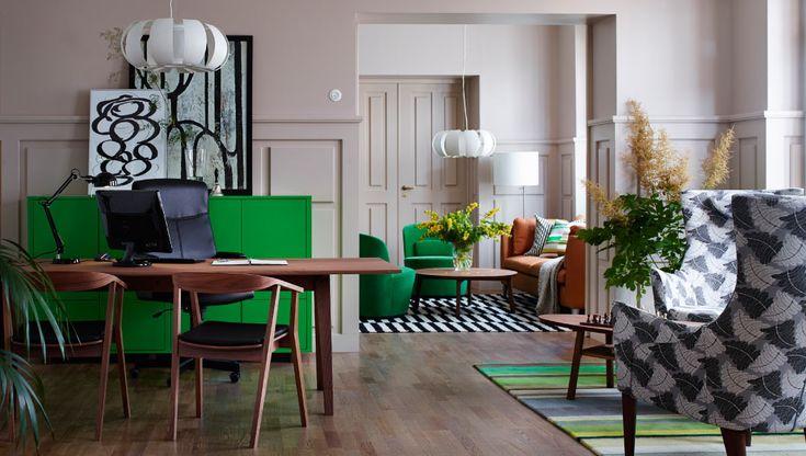 Ikea Schrank Weiß Mit Spiegel ~ Hotellobby mit Empfang, Warte und Loungebereich mit MALKOLM Drehstuhl