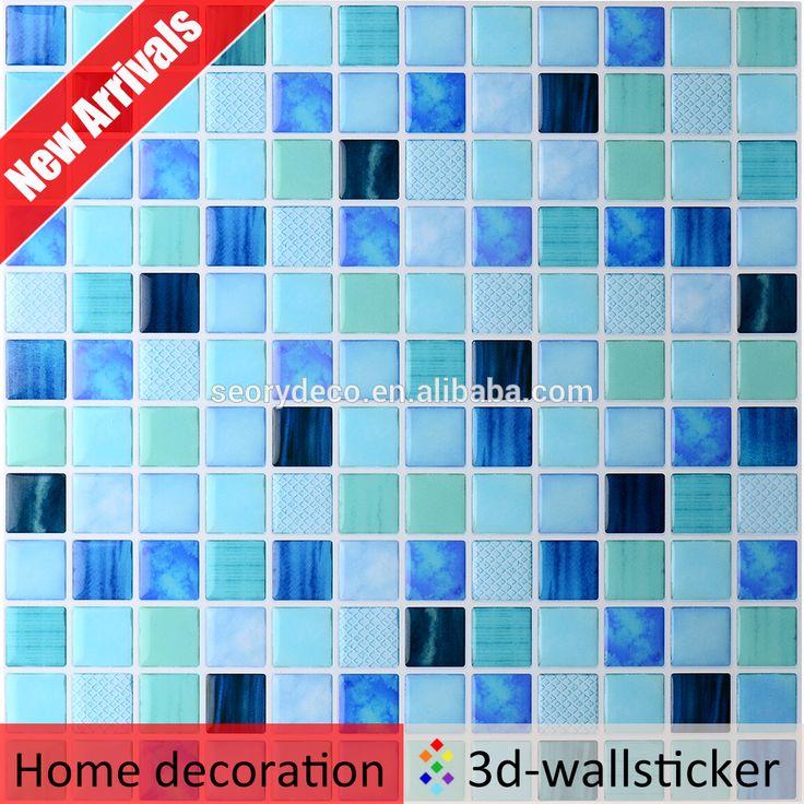 Vendita calda stile muti-colore fresco 3D gel rivestimento parete a mosaico con il modello come decorazioni di mobili