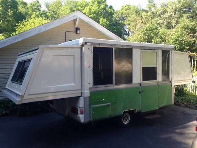 Campers For Sale Near Me >> 1977 APACHE RANGER | Apache camper, A frame camper, Camper