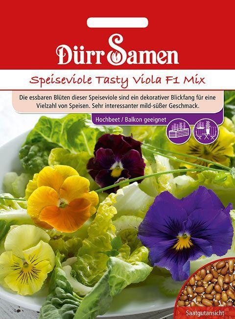 Dürr Samen Speiseviole Tasty Viola F1 Mix