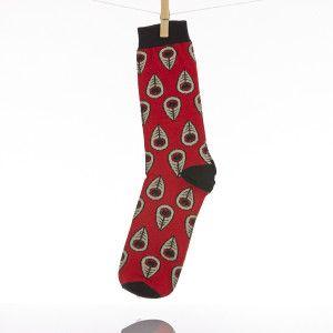 Peacock Socks | http://bit.ly/1qhaWIO