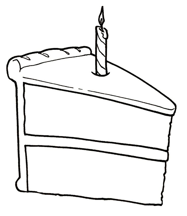 Inside Starry Nights Studio Digi Stamps Birthday Cake Clip Art Cake Drawing