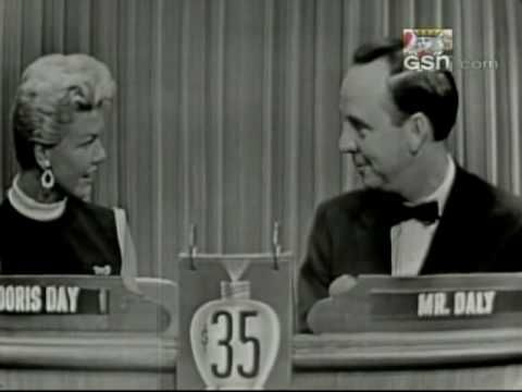 """Doris Day on """"What's My Line?"""" Just before the making of my favorite movie Young at Heart :3"""