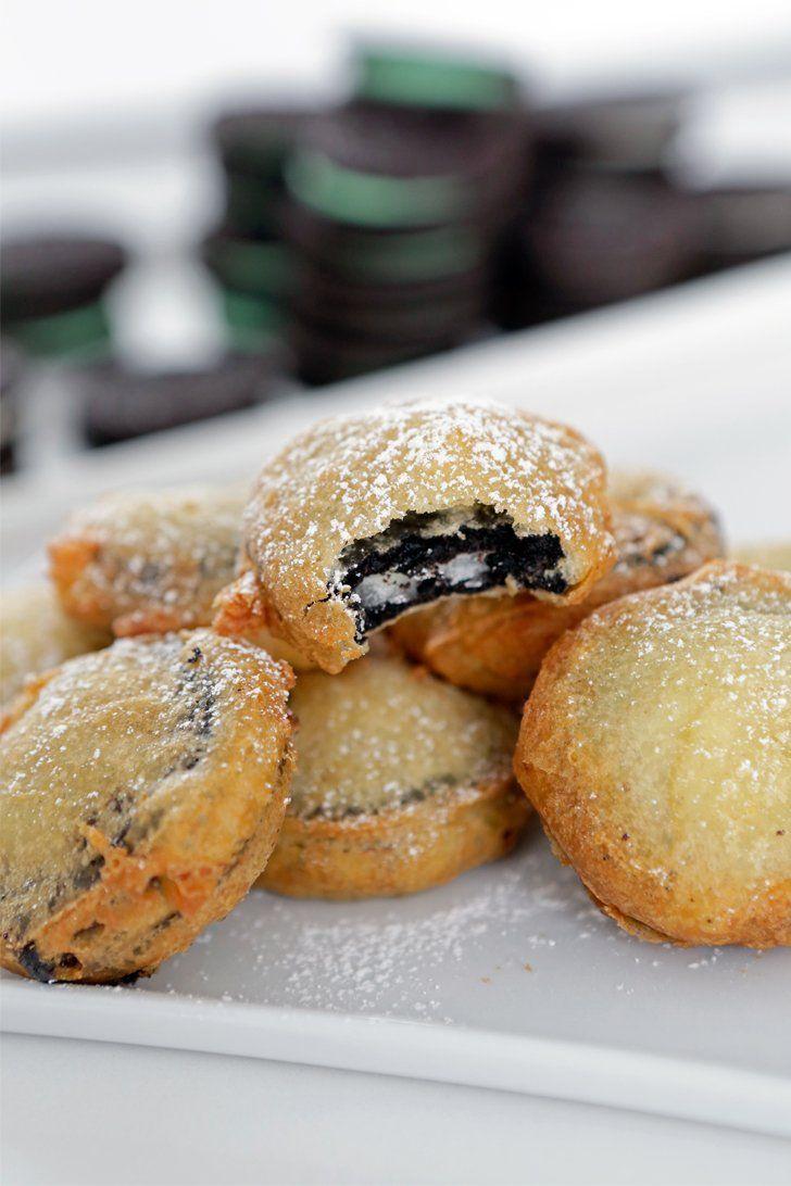Your favorite fair food - deep fried Oreos!!