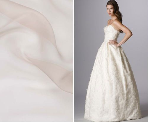 Glossary Everything You Need To Know About Wedding Gown Fabrics