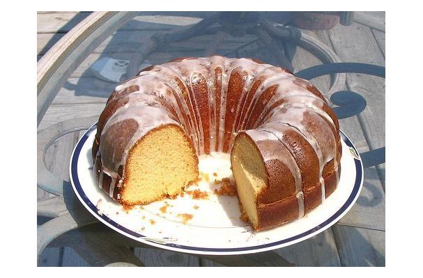 Apricot Nectar Lemon Supreme Cake