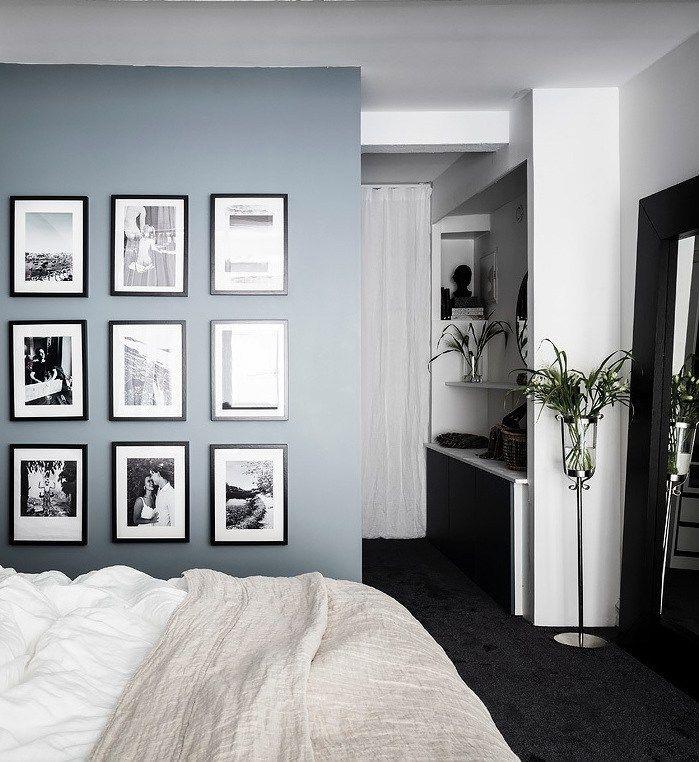 Loft Suedois Un Appart Au Style New Yorkais Deco Chambre Noire