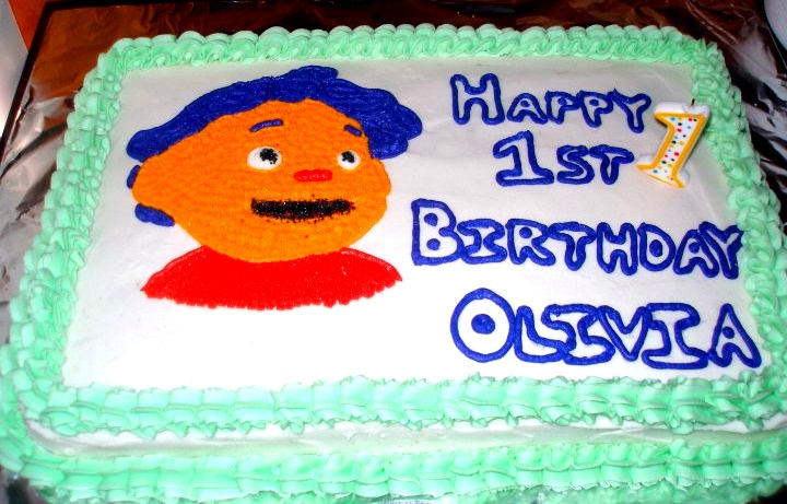 Sid The Science Kid Birthday Cake Birthday Party