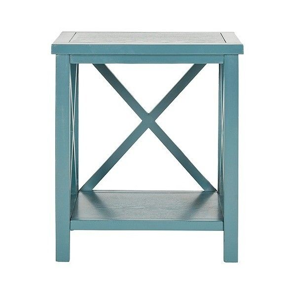 Best End Table Safavieh Catania End Table Teal 155 Cad 400 x 300