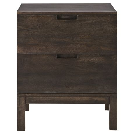 Hudson 2 Drawer Bedside Table Freedom Furniture and