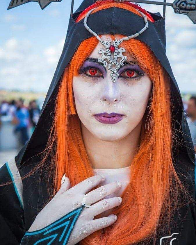 Cosplayer and cosplay of Midna true form Princess twilight  The legend of Zelda twilight Princess  Follow me on Instagram and Facebook  Blu-Grace98