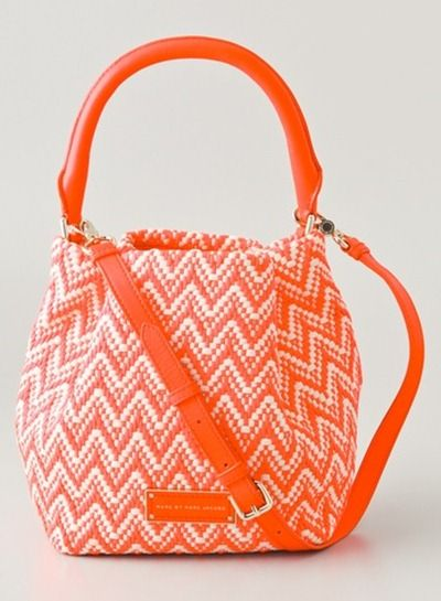 Marc By Marc Jacobs Pot Holders Rosie Bag. Perfect for the tangerine trend!: Orange Fashion, Hand Bags, Holders Bag, Handbags, Color, Tangerine Bag, Tangerine Trend, Fashion Collection, Beautiful Orange