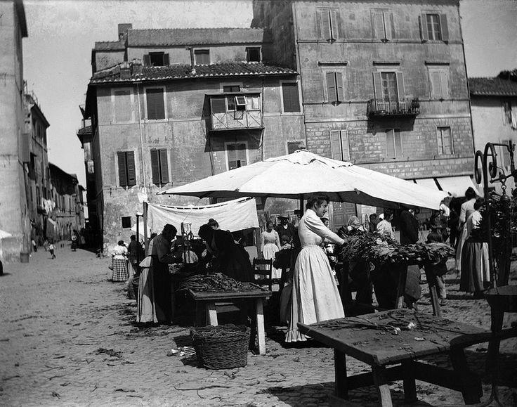 Baldomer Gili Roig. Mercat (Roma), 1900 - 1904 #TuscanyAgriturismoGiratola