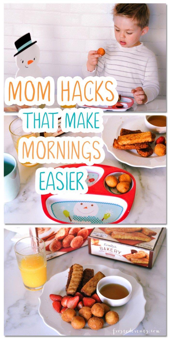 Morning Routine Mom Hacks to make the AM Easier. #FarmRichBakery