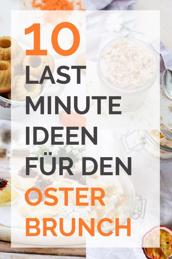 10 Last-Minute-Ideen für den Osterbrunch - kochkarussell.com
