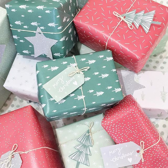 Excitement for Christmas is really starting to build here in the studio, so to help you get ready we have designed some printable wrapping...
