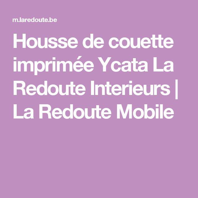 Housse de couette imprimée Ycata La Redoute Interieurs | La Redoute Mobile