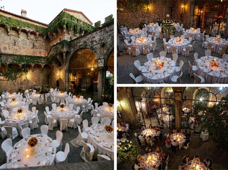 Castello di Vincigliata - European destination for beautiful weddings