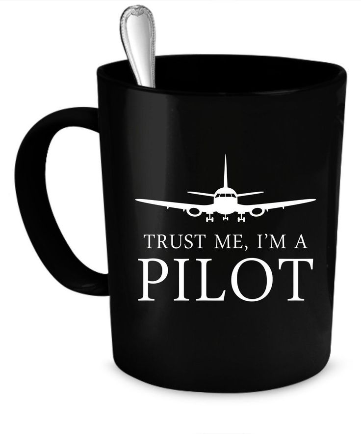 Perfect gift for the coffee or tea drinking airplane Pilot coffee mug in your life; Design is printed on both sides of the mug; amazon designers from around the world. #aviationpilot