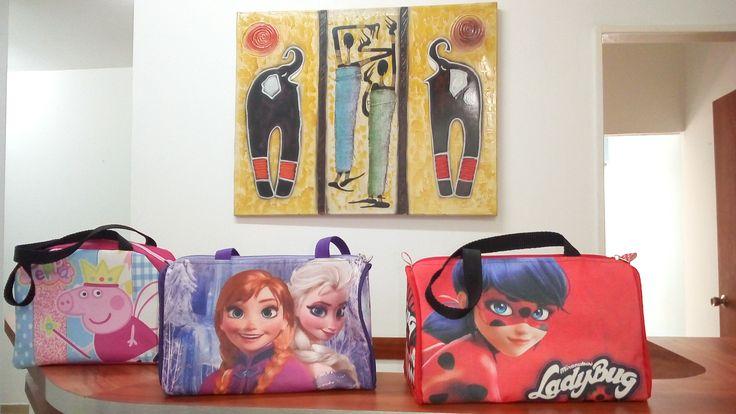 Bolsos Bags regalo niñas luncheras deporte frozen luna divertidas personalizadas de MatShop108marelymaty en Etsy