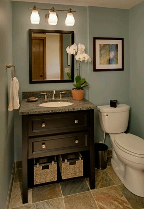 #CILserenity a decent size sink with storage....and we have to be able to open the bathroom door! LoL